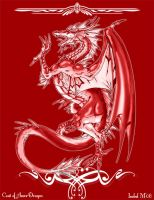 Coat of Arms-Dragon RED by Ameban