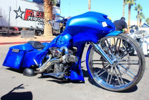 Bad Ass Blue Bagger by DrivenByChaos
