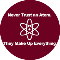 Never Trust an Atom by FiloChapas
