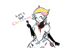 LETS GET CREATIVE by GirlWithTheGreenHat