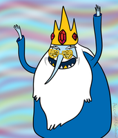 Ice King too turnt by AccursedRainbow