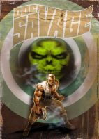 Doc Savage by uwedewitt