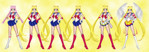 Fashion History 1: Sailor Moon by the-sweet