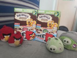 Angry Birds Promo - Angry Birds Game CDs by AngryBirdsStuff
