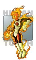Human Torch by JeremyTreece