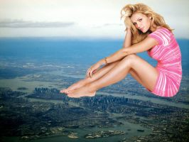 Giantess Brooklyn Decker by ilikemercs