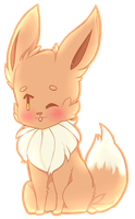 Eevee by Foxesu