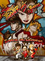 Street Fighter tribute... by Bug-Productions