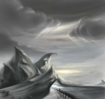 mountains + Clouds by Zyryphocastria