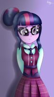 Shy-Twi (Colored) by KittyDazzling