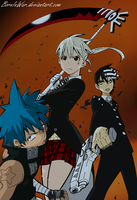 Epic Team of Soul Eater by BornInWar