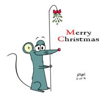 The Christmas Mouse by Cartoon-Eric