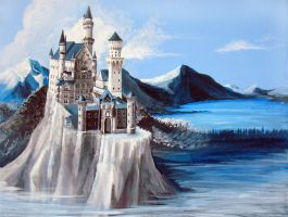 Neuschwanstein by Cherie327