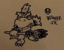 Bowser Jr. for Brawl by Marioshi64