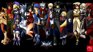 BlazBlue: CS Wallpaper by SuchAHussler