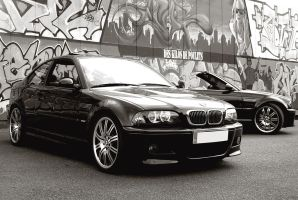 BMW m3 coupe et cab by psycko91