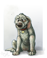 Mister Sadpup by colonel-strawberry