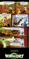 Norm and Cory- GEICO by andrewk