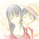 Robin and Luffy - Smile by xox1melly1xox