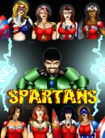 SPARTANS page one by Burgos by THE-Darcsyde