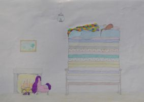 the princess on the pea by populusnigra