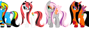 Pony Adopts For Sale by KolliceKat