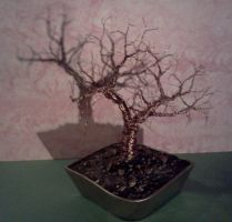 Finished Copper tree by LadyDracos