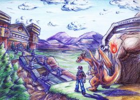 Over Indigo Plateau by GraphiteFalcon