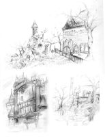 a few castles and bgs by stevencassidy13