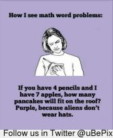 How I see math problems by dxdiagbg