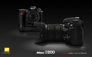 Nikon D200 Wallpaper by makrivag