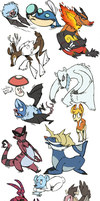 Pokedoodles by defauts