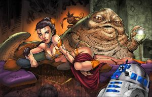 Slave Leia Colors by SplashColors