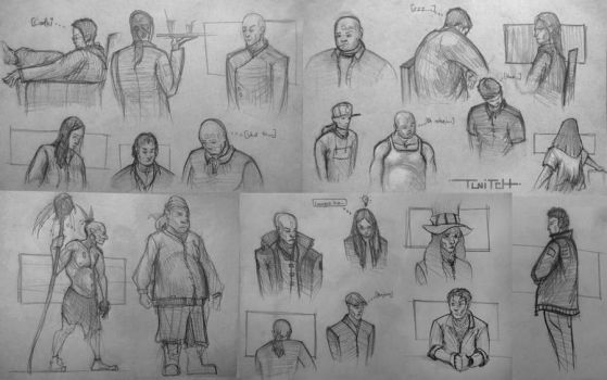 Life sketching doodles by twitchx7