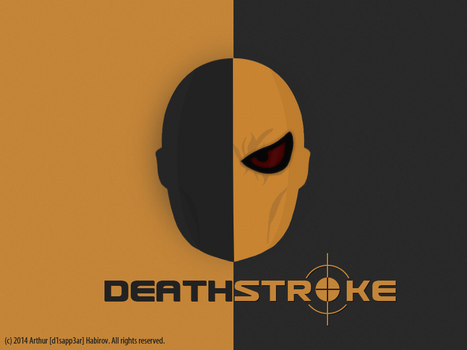 DEATHSTROKE by d1sapp3ar