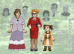 BICP Sketches IX + Height Chart by ErinPtah