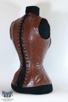 Steam Pirate Corset Back by Eisfluegel