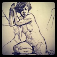 5 min gesture drawing by wmarinics18