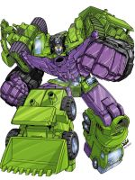 Devastator by BlondTheColorist