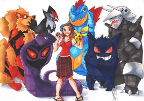 Pokemon Team Earthberry by tae-