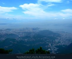 View from Corcovado 03 by kuschelirmel-stock