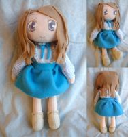 Takakura Himari Plush by dollphinwing