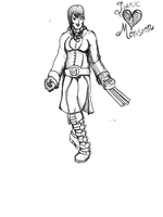 Character Art for Reddit: Jynx Monsoon, Final by McMuffinKing