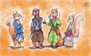 Redwall request by DekabristMouse