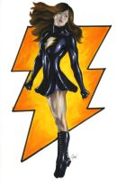 Mary Marvel Commission by gattadonna
