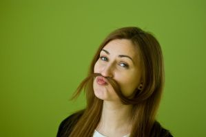 Hair mustache by KNL