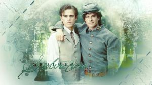 Salvatore brothers by kienerii