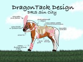DRS Sin City's Dragon Tack by StableDaydreams