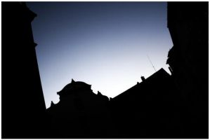 Ravensburg City Skyline by Technoruebe