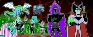 Danny Phantom Rogues Gallery by mariomaster88